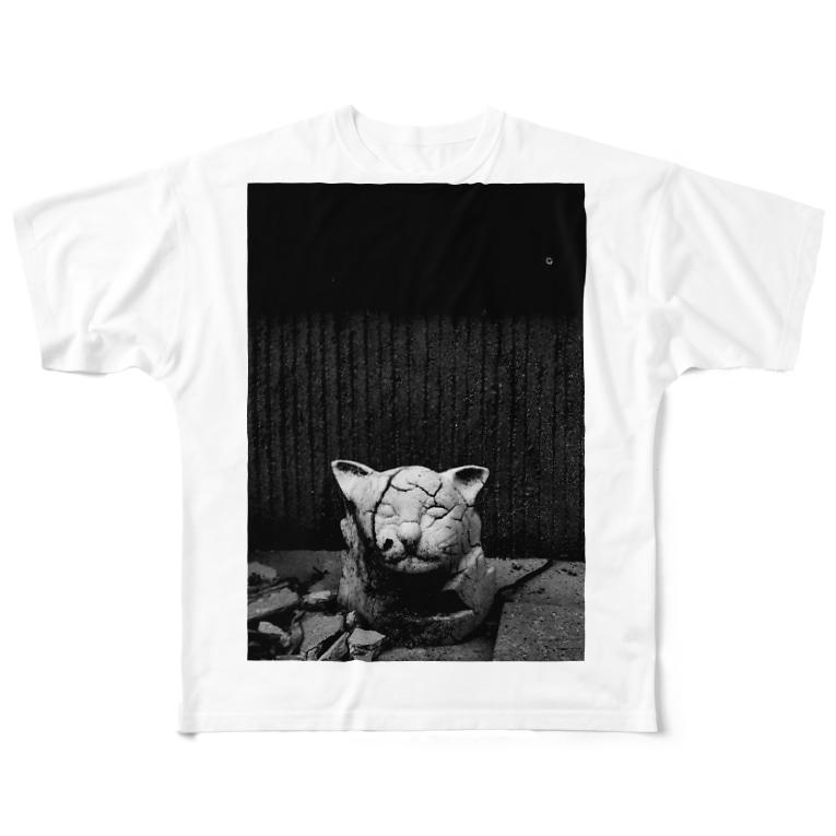 TackのAbandoned Full Graphic T-Shirt
