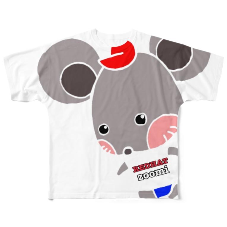 mattemaina のREDHATzoomi Full graphic T-shirts