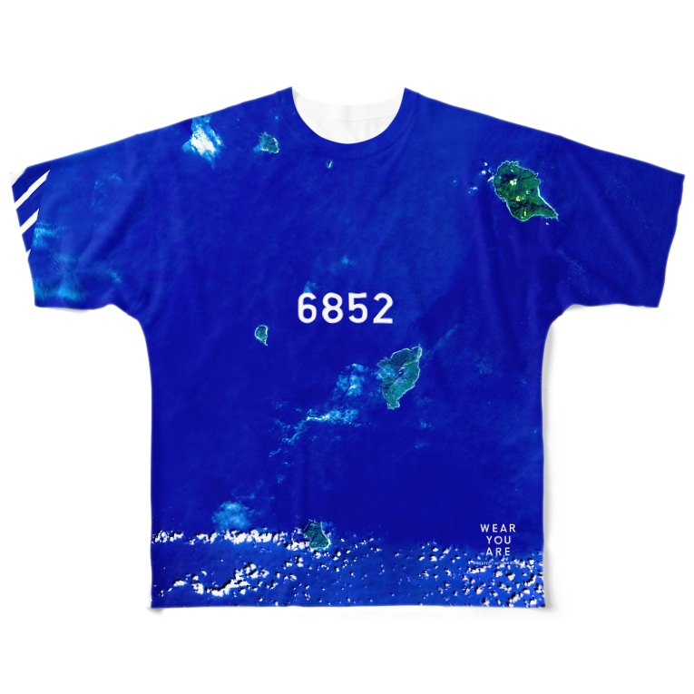 WEAR YOU AREの鹿児島県 鹿児島郡 All-Over Print T-Shirt