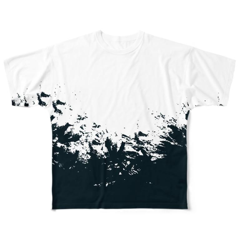 LIBRI PAINT WORKのLIBRI  PAINT WORK 006 Full graphic T-shirts