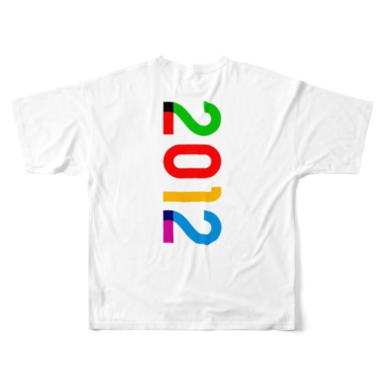 marikiroの2012_西暦 Full graphic T-shirts