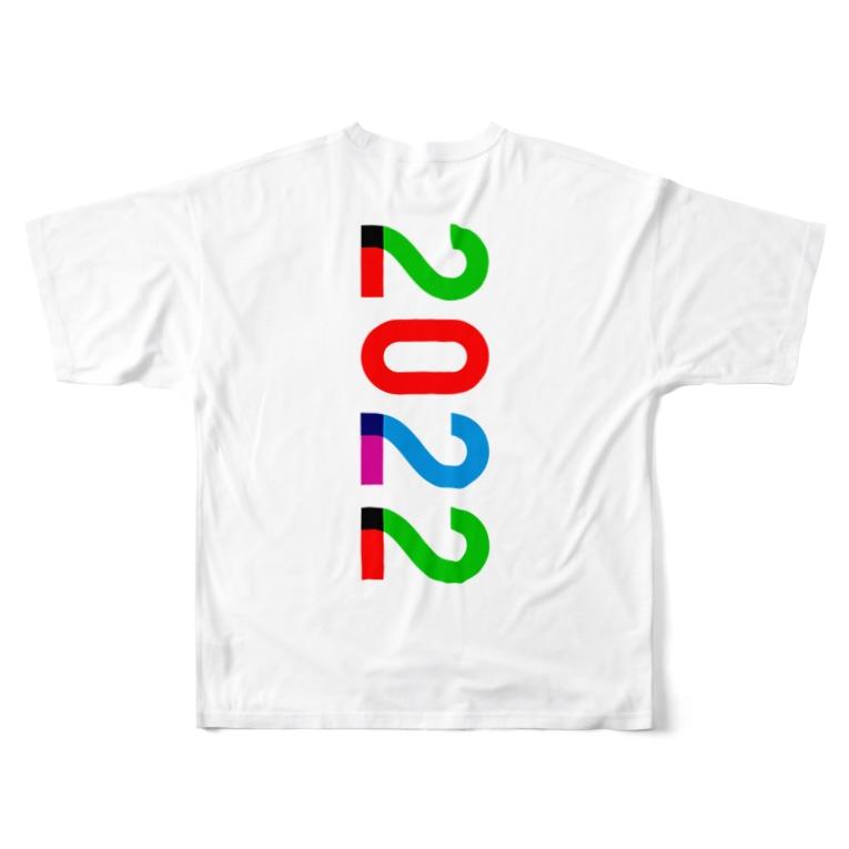 marikiroの2022_西暦 Full graphic T-shirts