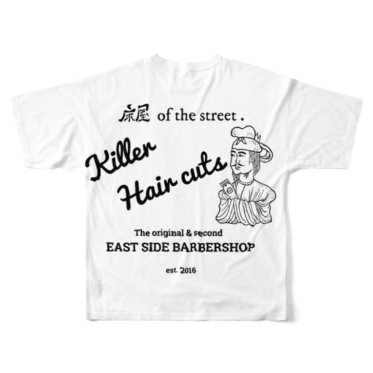 kasashoの聖徳バーバー Full graphic T-shirts