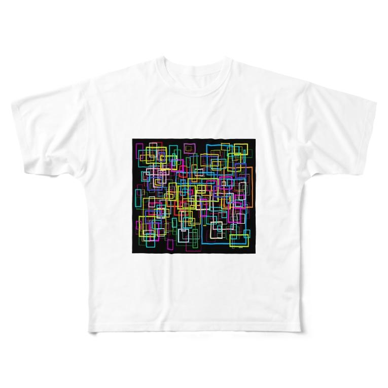 Asai8823の光彩 Full graphic T-shirts