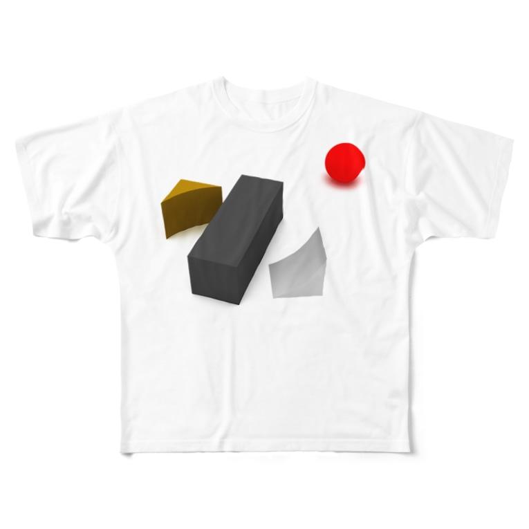 K. and His Designの100日後に死ぬ◯◯◯◯◯ Full graphic T-shirts