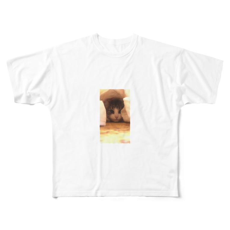 japonitaのつめちゃん Full graphic T-shirts