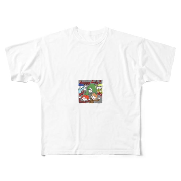 04_169_aのね Full graphic T-shirts