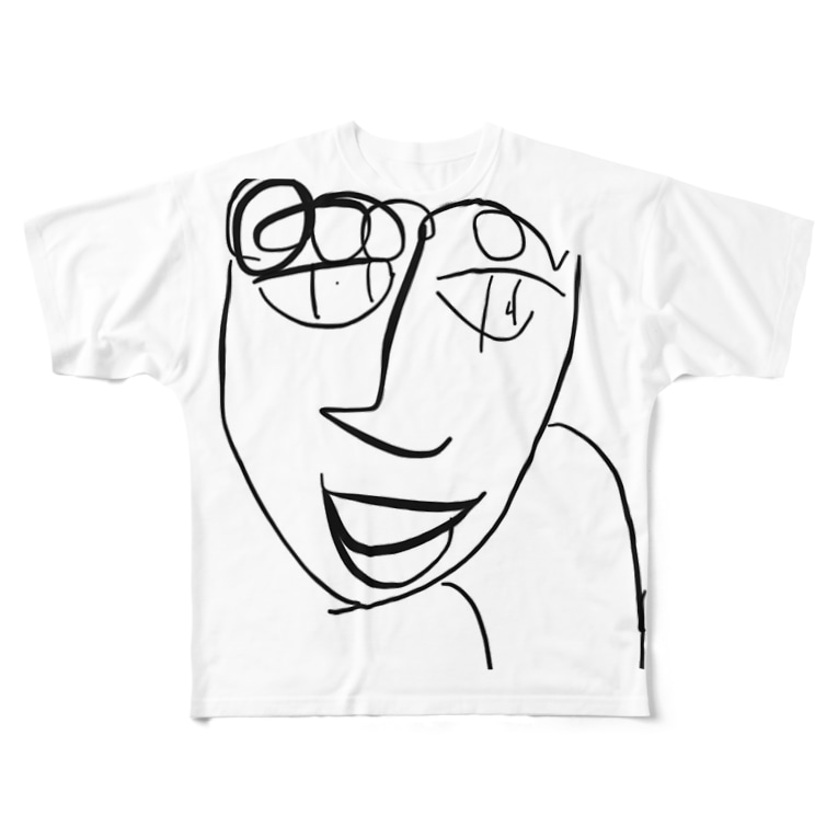 vacuityのほんなら!山田くん! Full graphic T-shirts