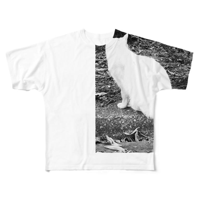 しみけんのあっち向いてホイッ Full graphic T-shirts