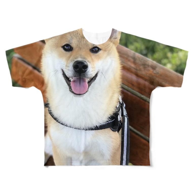 Kashiwabara_Proのまる×フェリ男くん Full graphic T-shirts