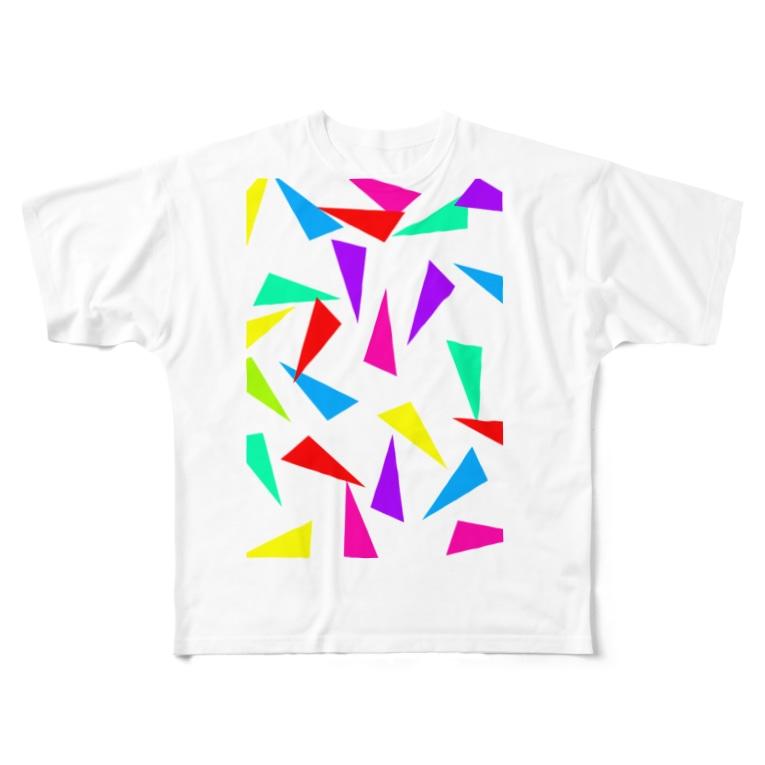 AIRのガラスの破片 Full graphic T-shirts