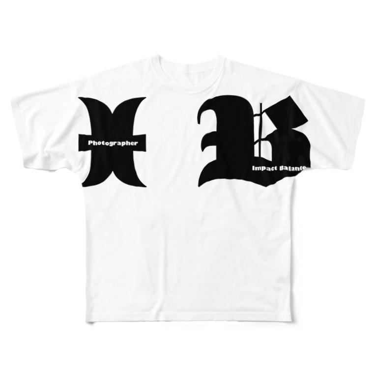 才王グッズSAIOHオフシャルのIBⅢ Full graphic T-shirts
