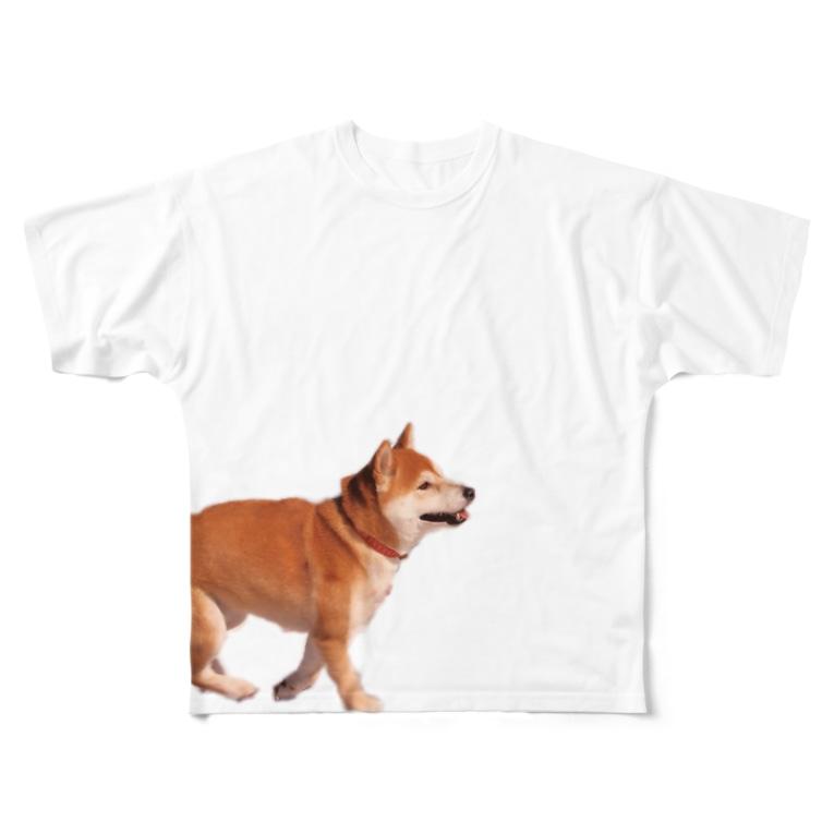 とりいのフライングドッグ Full graphic T-shirts