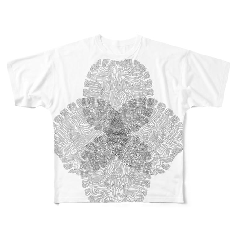 jmrの甲 Full graphic T-shirts