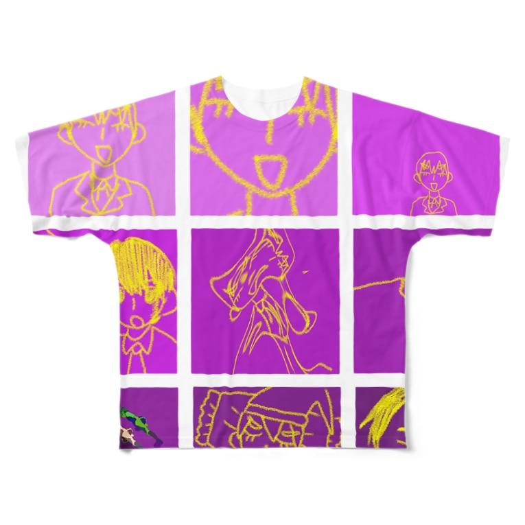 okusuri05の    御曹司 Full graphic T-shirts