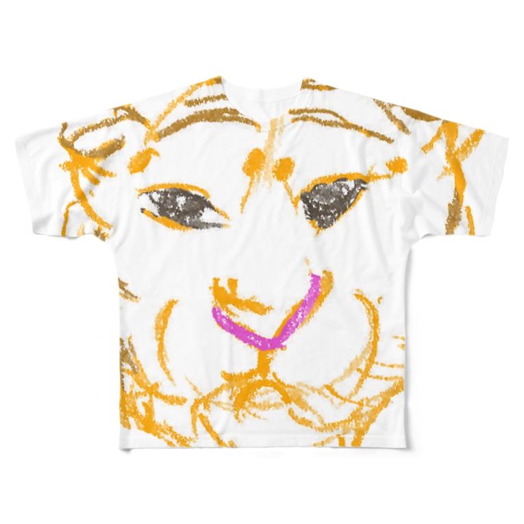 ブティックおばば銀座の干支(寅年) Full graphic T-shirts