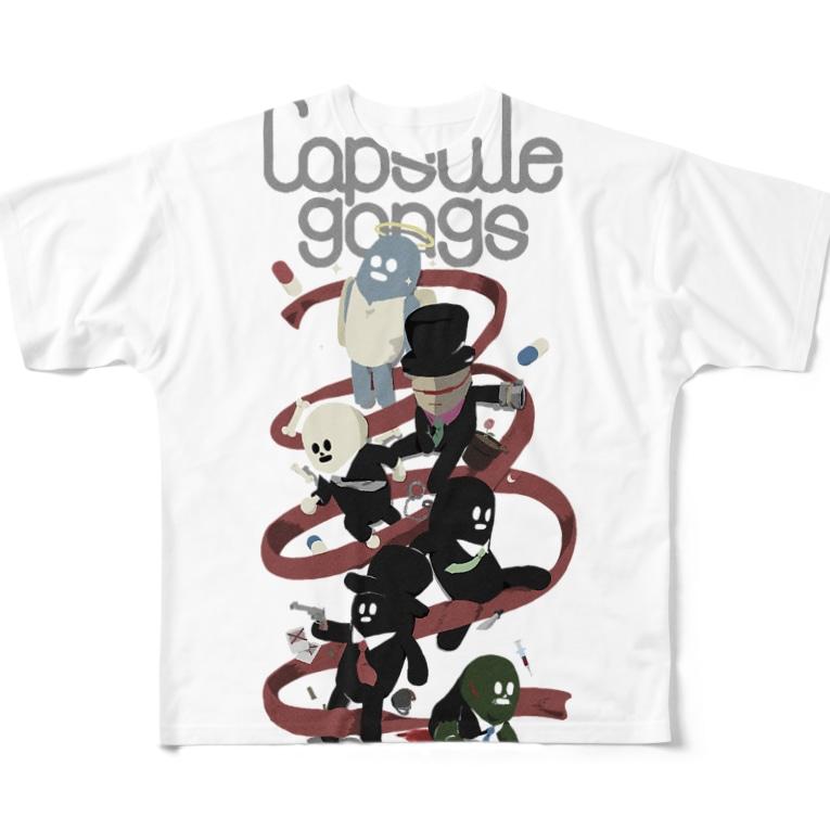Capsule Gangs フルグラフィックTシャツ