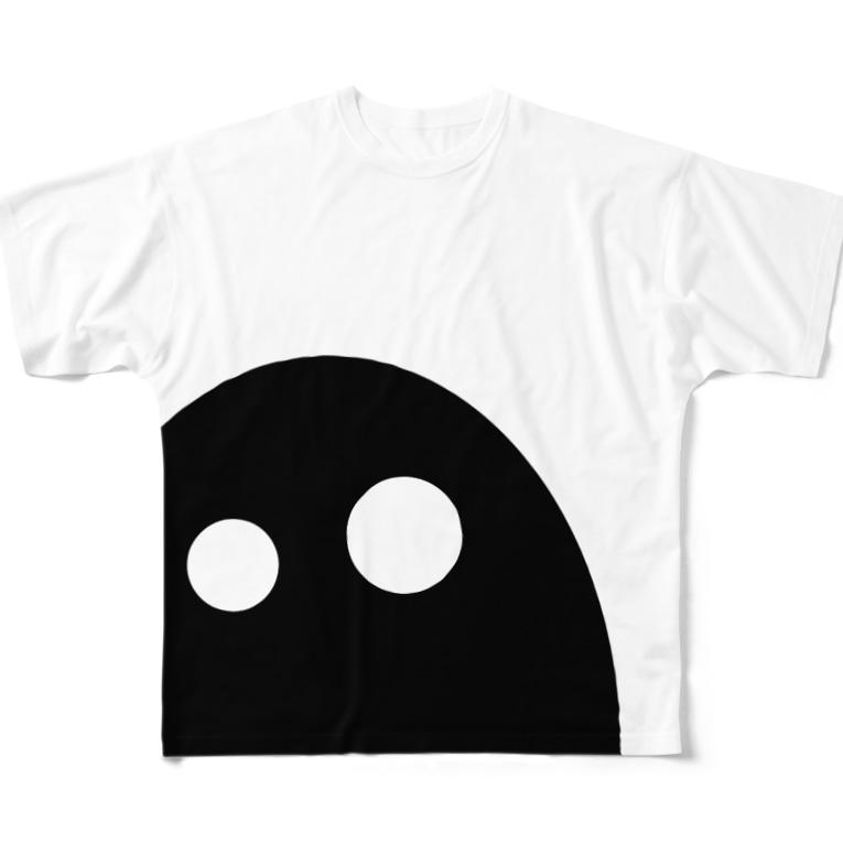 みているぞ フルグラフィックTシャツ