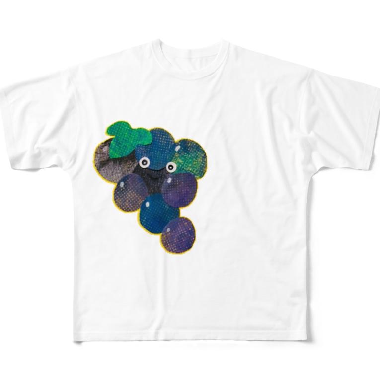 matsunomiのブドウ Full graphic T-shirts