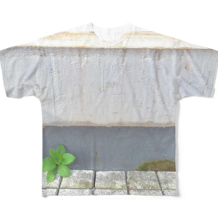 ÜKの大岡山 Full graphic T-shirts
