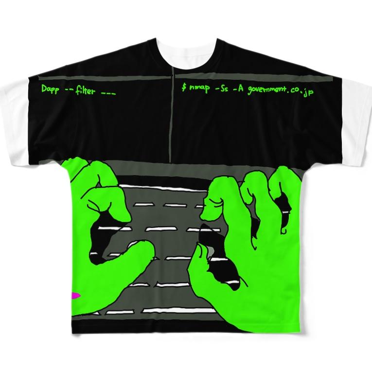 Keita Roimoのhacker news Full graphic T-shirts