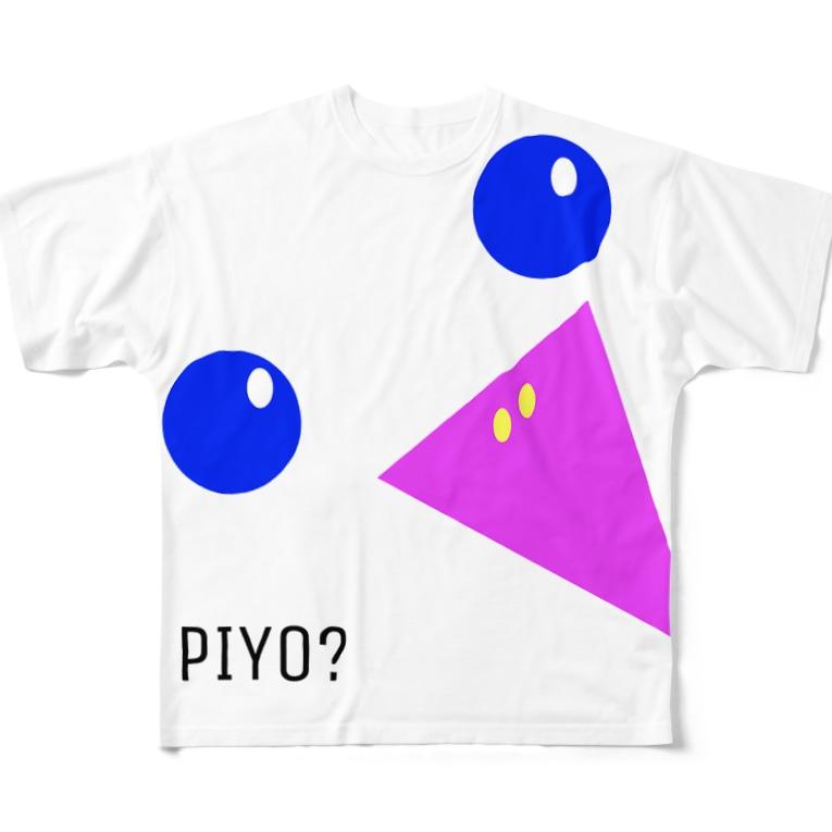 mikoのPIYO? Full graphic T-shirts