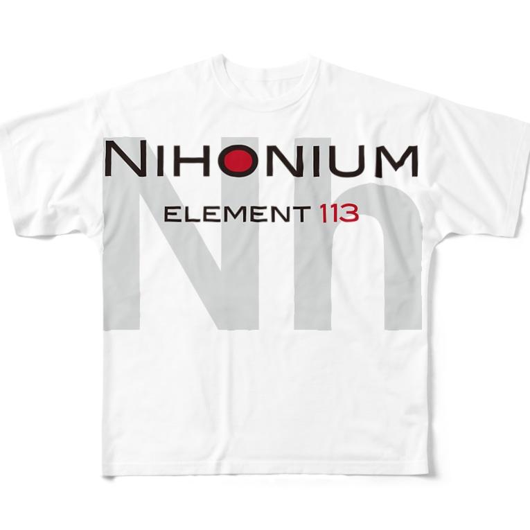 ACTIVE-HOMINGのにほにうむグッズ2 Full graphic T-shirts