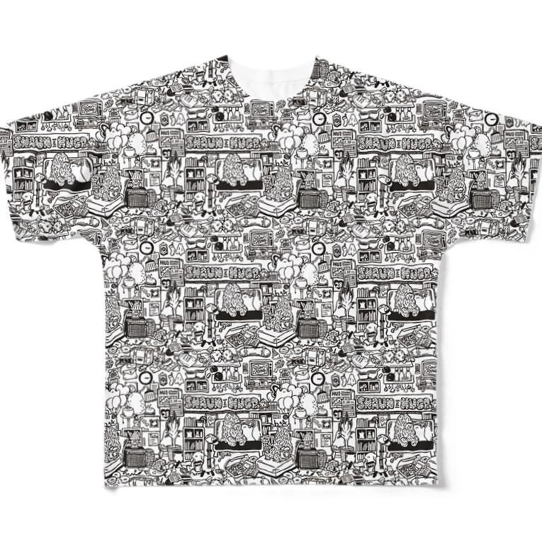 HUI-Studio.のmonster room T Full graphic T-shirts