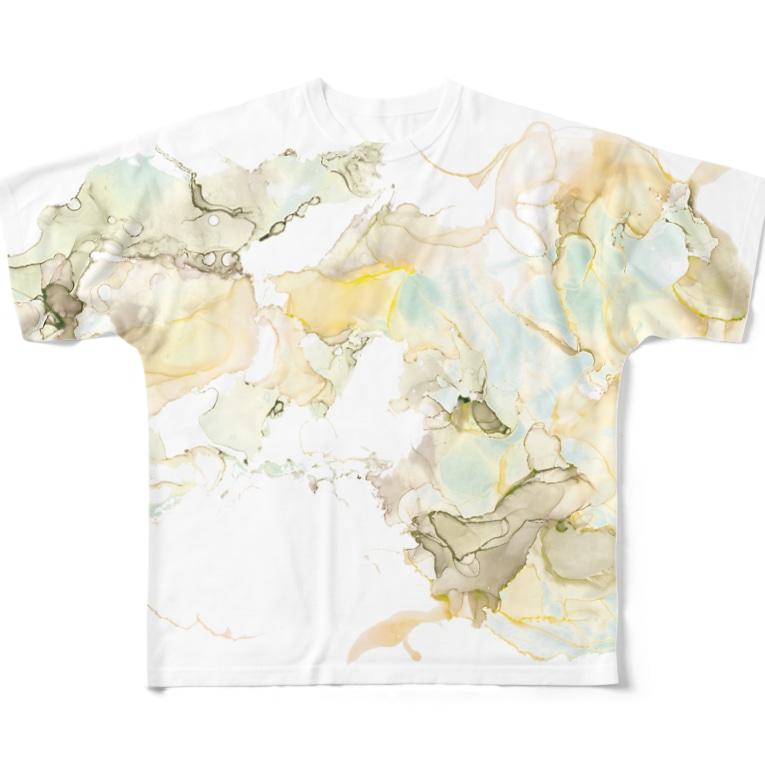 mayapatternの迷彩のような Full graphic T-shirts