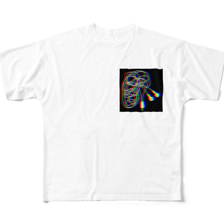 ダイナマイト井上のFull graphic T-shirts