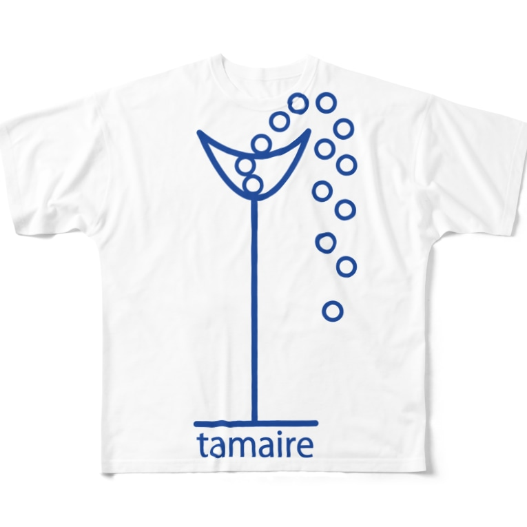 near_childのtamaire ※Aパターン(カラー2) Full graphic T-shirts