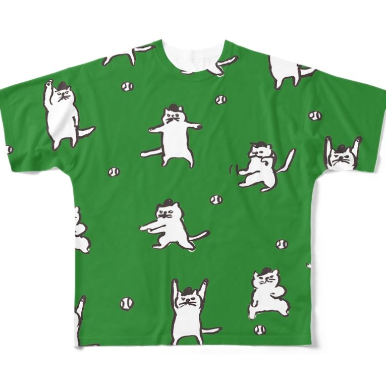 sucre usagi (スークレウサギ)の猫の審判 All-Over Print T-Shirt