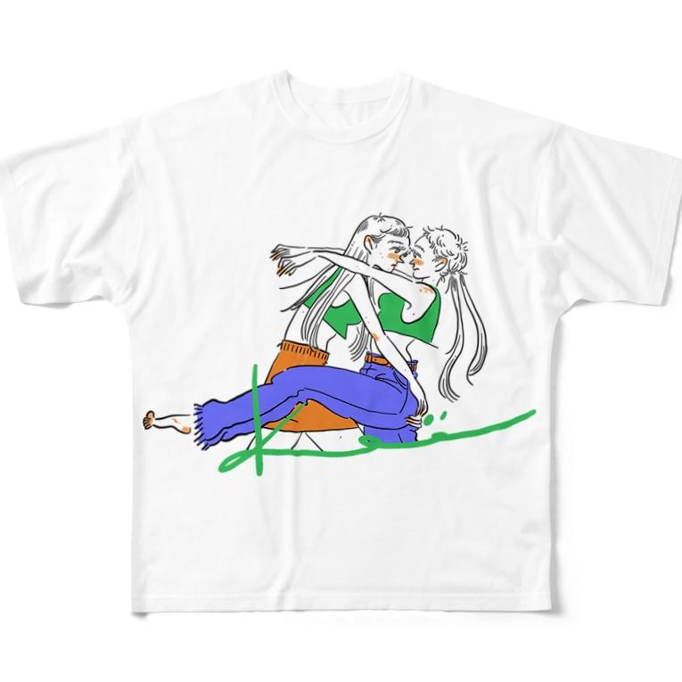 kameのだっこガール Full Graphic T-Shirt