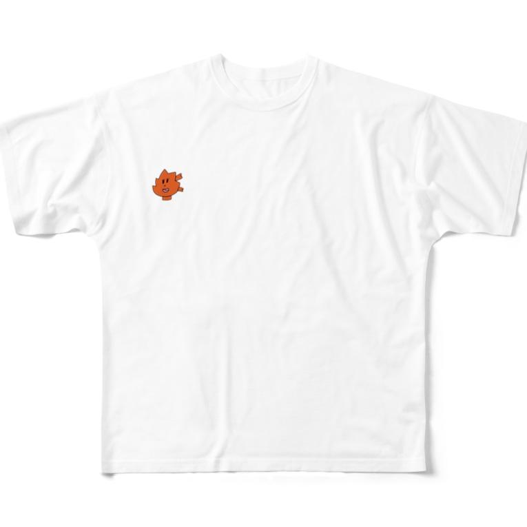小西こに -Konishi Koni-の楓マン Full graphic T-shirts