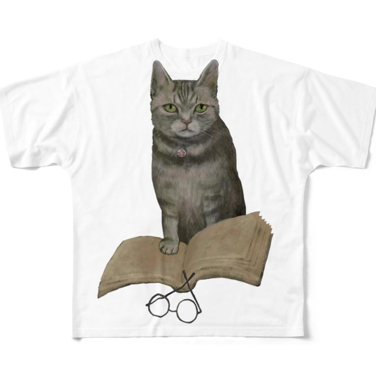 Washiemon and Ai-chan's ShopのWisdom Full graphic T-shirts
