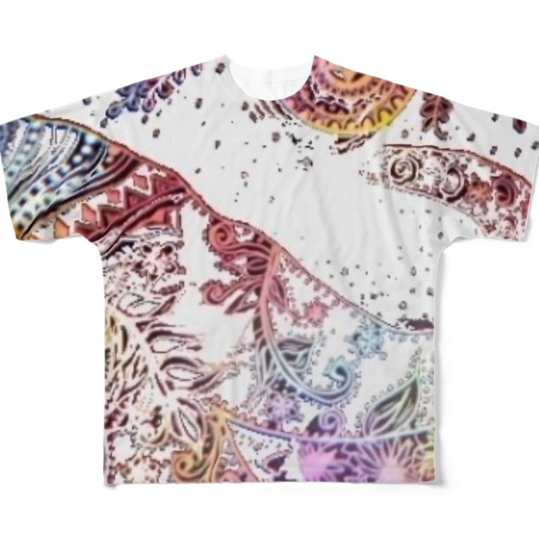 HK mr,s405 shopのぞうさん1匹バージョン Full Graphic T-Shirt