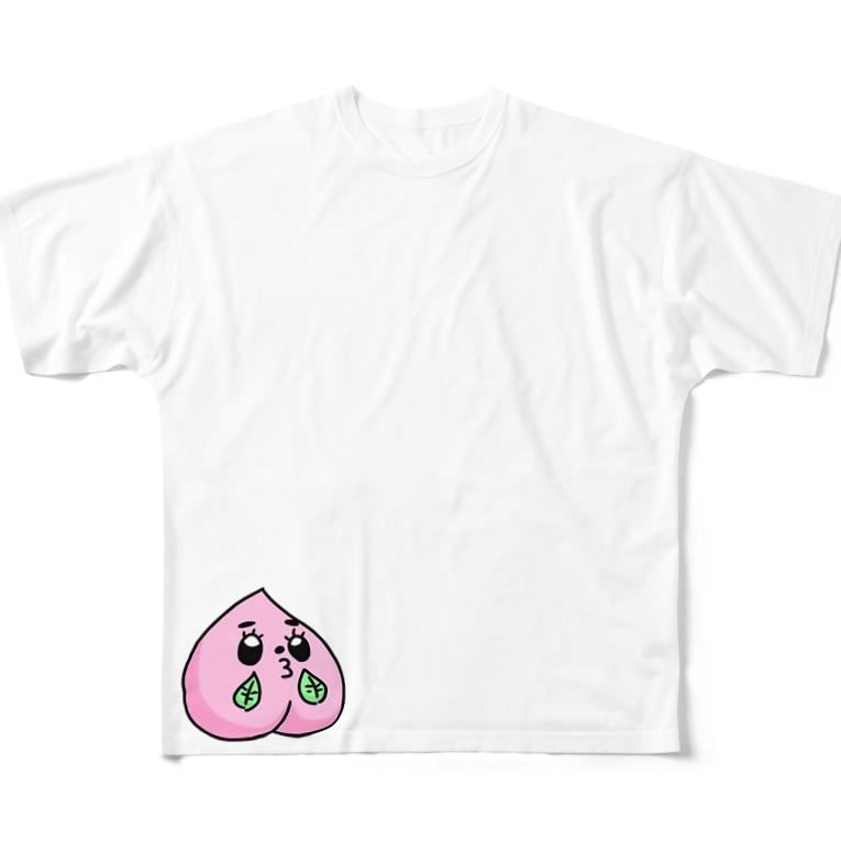 きゃずもも&ももみのグッズ販売のももみコレクション Full graphic T-shirts