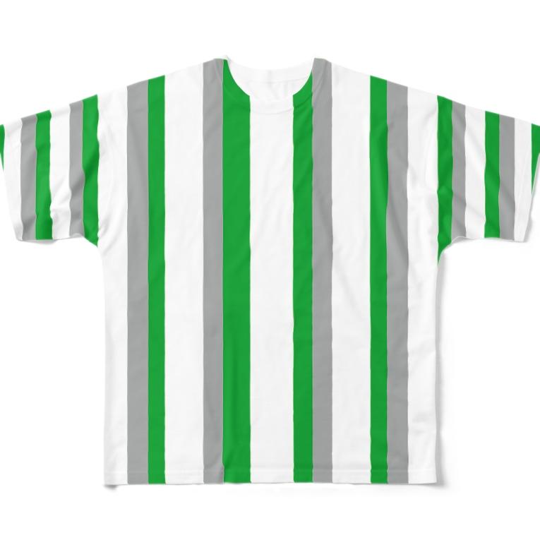 gorozomachine_storeのリモート会議で体がバラバラになる?シャツ Full graphic T-shirts