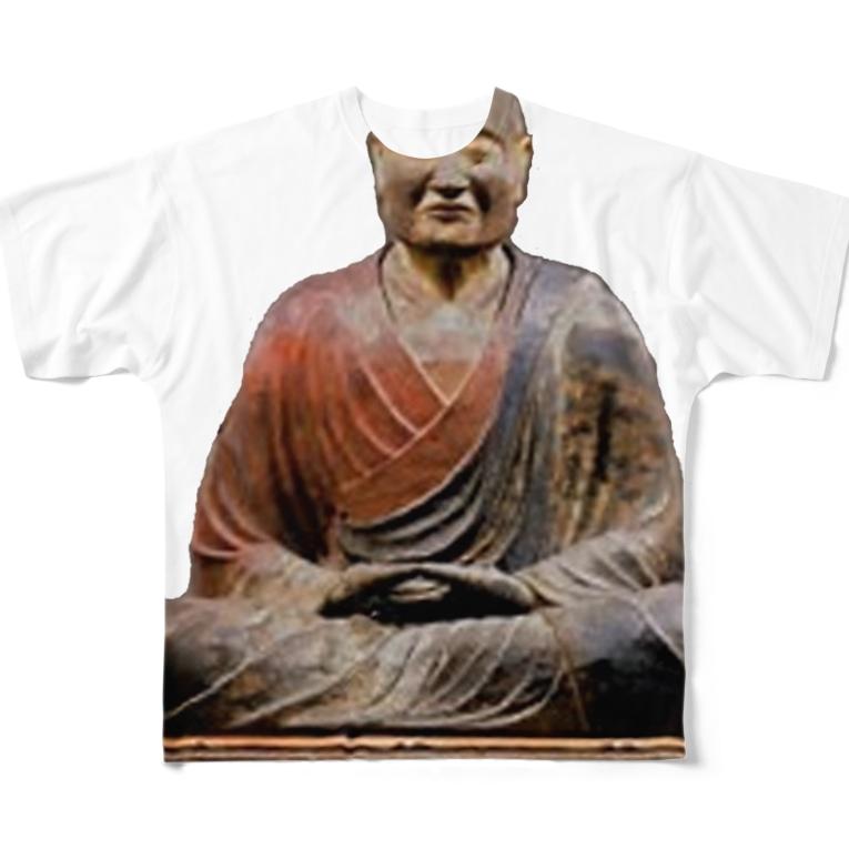 AAAstarsの鑑真 Full graphic T-shirts