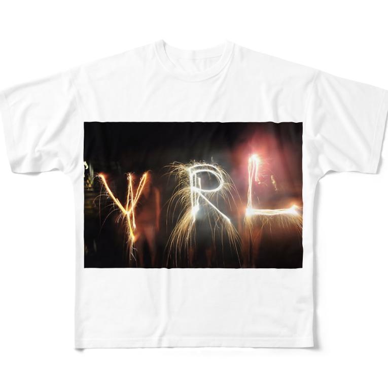 misudoの花火YRL Full graphic T-shirts