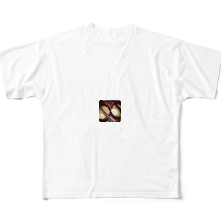 ヘンコジ物販のeggy ramee Full graphic T-shirts