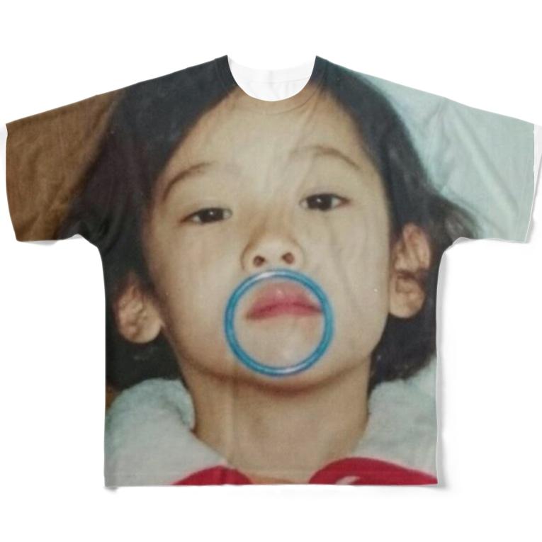 小島ふかせ画伯のボッタクリ商売の小島ふかせの幼少期です。 All-Over Print T-Shirt