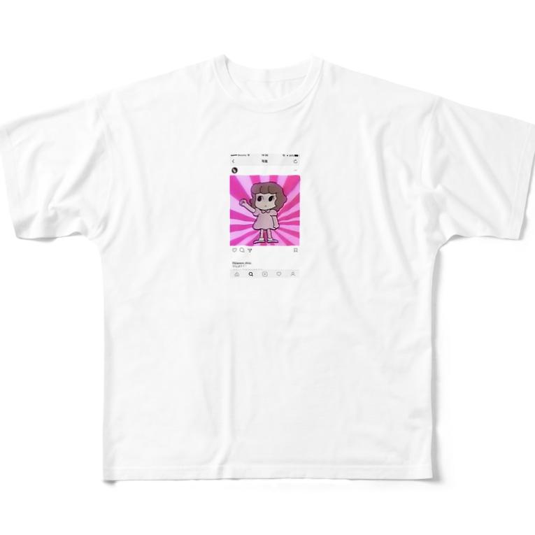 kyarimaruのシニカルヒステリーアワーちゃん Full graphic T-shirts