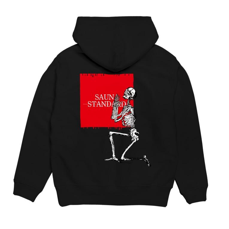 SAUNA BASEのSAUNA STANDARD【skeleton(整)】 Hoodiesの裏面