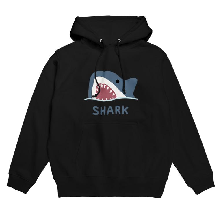 すとろべりーガムFactoryのサメ Hoodie