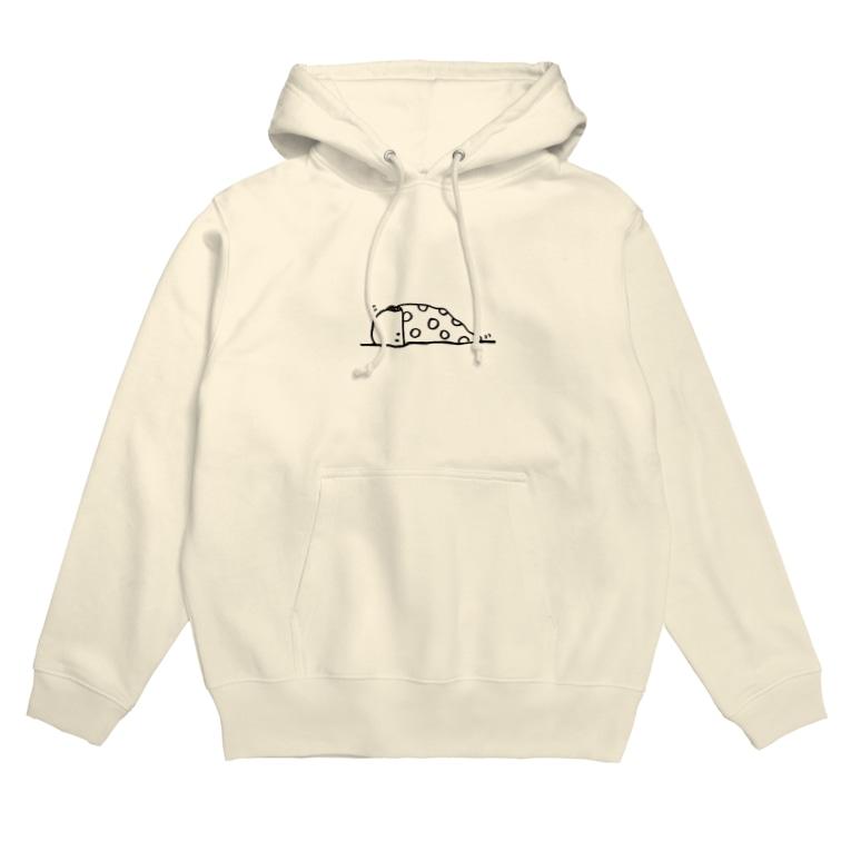 410kiki_shop(フォトキキ)のぬのちゃんズ_お布団 Hoodies