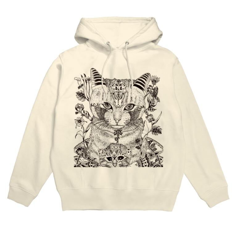 Yusuke-Kubozukaのネコ Hoodies
