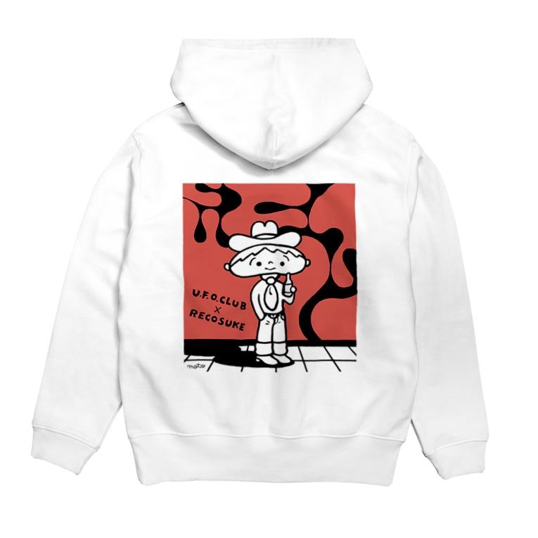東高円寺U.F.O.CLUB webshopのレコスケくん x U.F.O.CLUBオリジナルパーカー Hoodies
