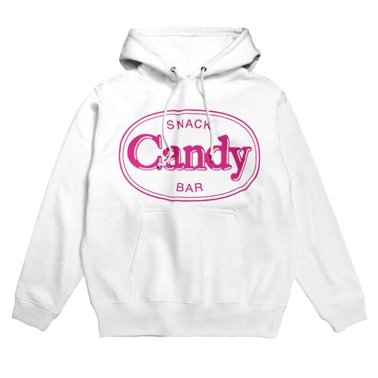 OkayamaCandyの岡山Candy Hoodies