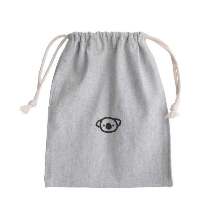 kozukuzuのplay for Australia コアラ(ひかえめ) Mini Drawstring Bag